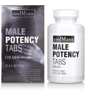 Капсулы для потенции COOLMANN MALE POTENCY TAB 60TABS - No Taboo