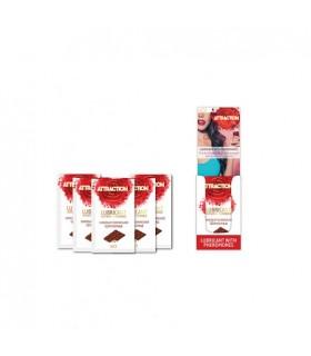 Пробник массажного масла с феромонами MAI PHEROMON MASSAGE OIL CHOCOLATE (10 мл) - No Taboo