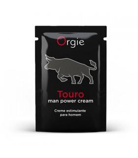 Пробник Крем для усиления эрекции Orgie Touro с мини-каталогом, 2 мл - No Taboo