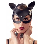 Маска кошки Bad Kitty, с заклёпками, черная