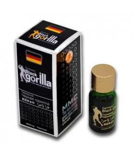 Таблетки для потенции Black Gorilla, 10 шт - No Taboo