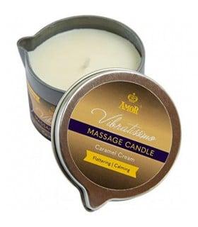 Массажная свеча Vibratissimo Caramel Cream низкотемпературная, 50 мл - No Taboo