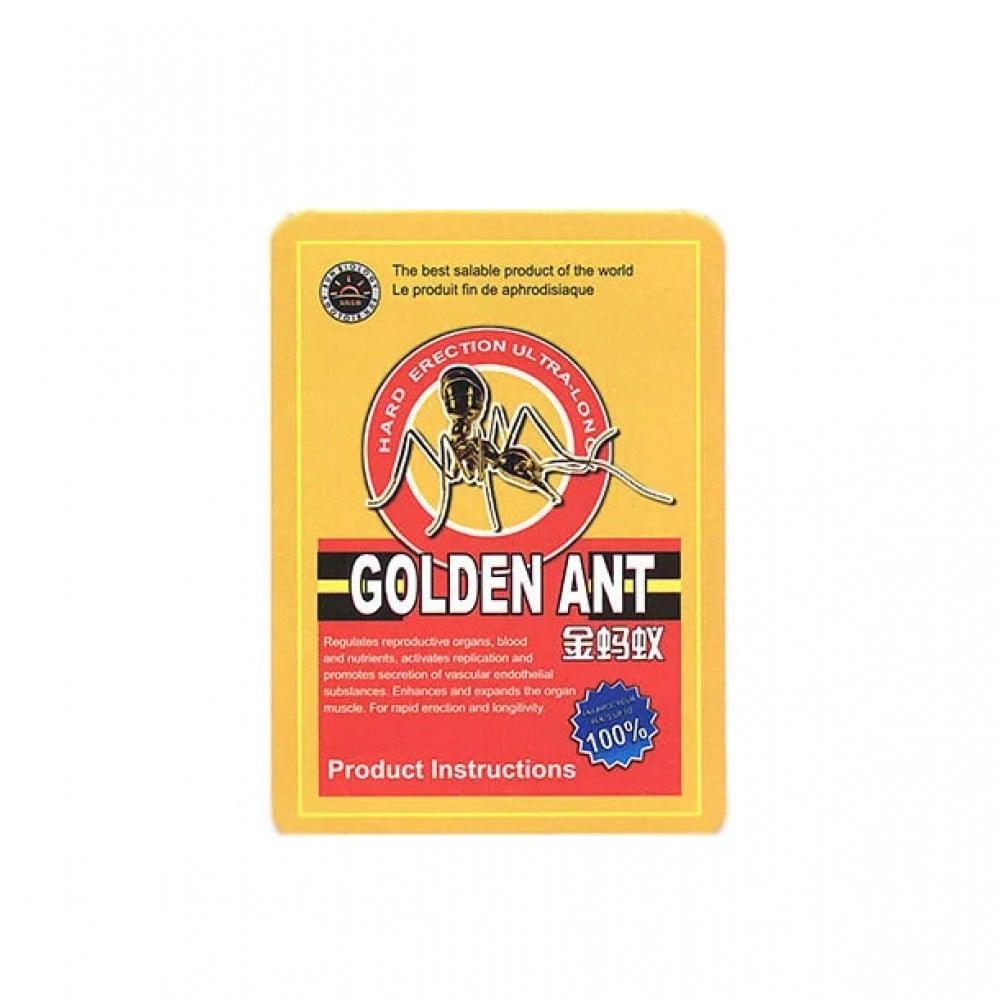Таблетки для потенции Golden Ant Золотой Муравей, 10 шт (39027), фото 1 — секс шоп Украина, NO TABOO