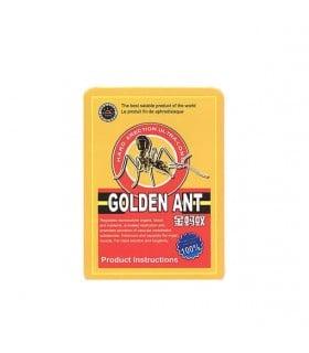 Таблетки для потенции Golden Ant Золотой Муравей, 10 шт - No Taboo