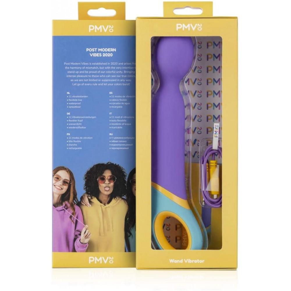 Вибромассажер микрофон PMV20 Base, 24 см, фиолетовый (39151), фото 10