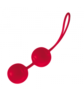 Вагинальные шарики JOYdivision Joyballs Trend, красные - No Taboo