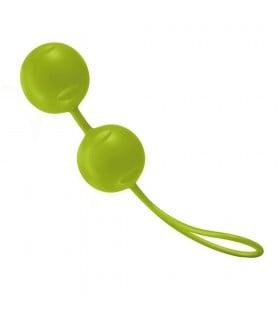 Вагинальные шарики JOYdivision Joyballs Trend, зеленые - No Taboo