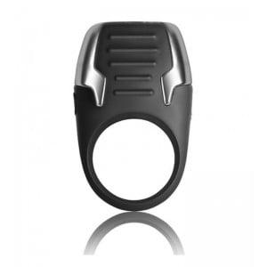 Эрекционное кольцо Rocks-Off Xerus черное, 3.5 см х 8 см (42122), zoom