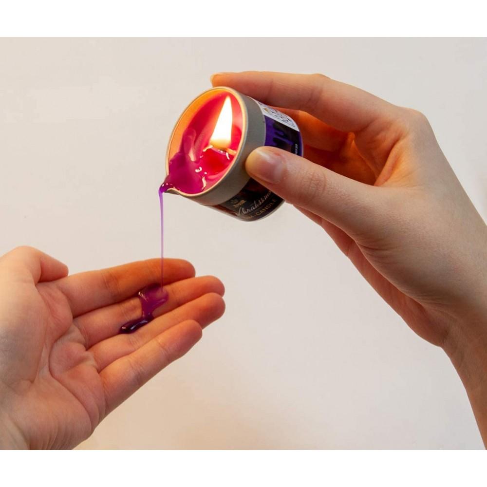 Низкотемпературная свеча Amor Vibratissimo фиолетовая, 50 мл (39922), фото 4 — секс шоп Украина, NO TABOO