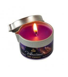 Низкотемпературная свеча Amor Vibratissimo фиолетовая, 50 мл