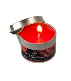 Низкотемпературная свеча Amor Vibratissimo красная, 50 мл