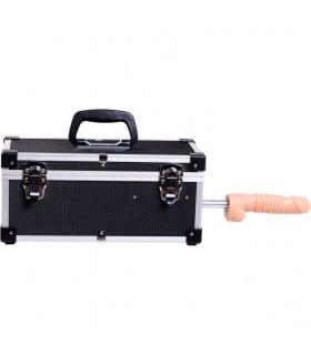 Портативная секс-машина Diva в чемодане, с пультом и насадками Vac-U-Lock - No Taboo