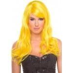 Перука з чубчиком Burlesque Wig, жовтий