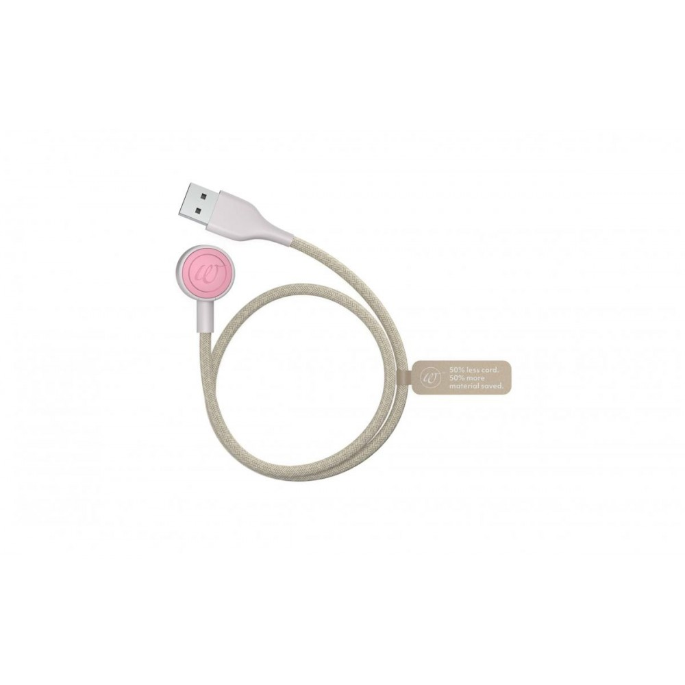 Бесконтактный клиторальный стимулятор Womanizer Premium ECO из биоразлагаемых материалов, розовый (41667)
