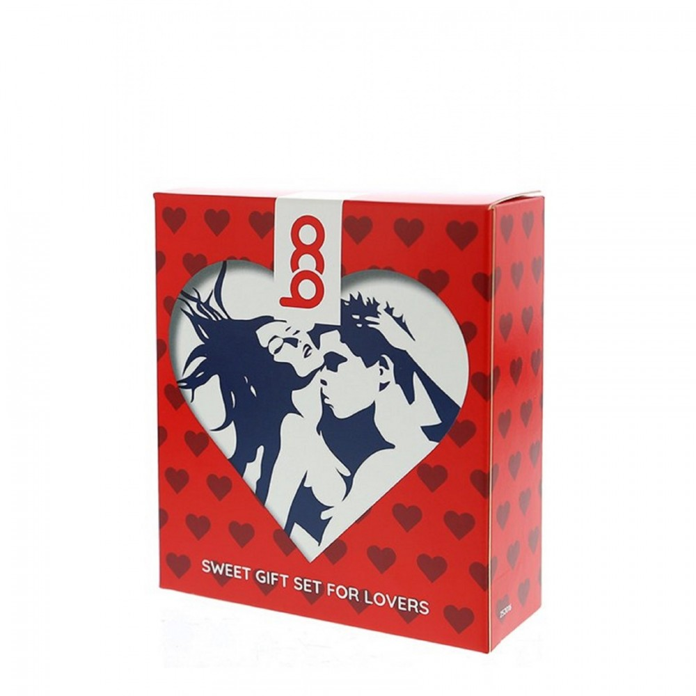 Набор ароматизированных лубрикантов BOO Gift Set 3 флакона, 3 шт х 50 мл (41664)