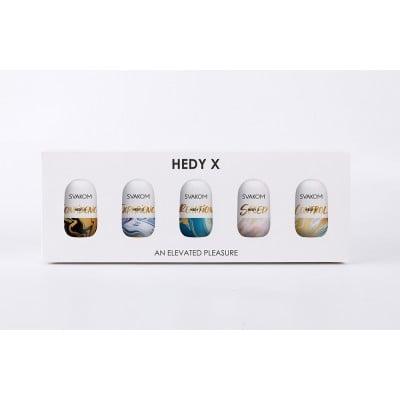 Новая коллекция мастурбаторов Hedy X от Svakom!