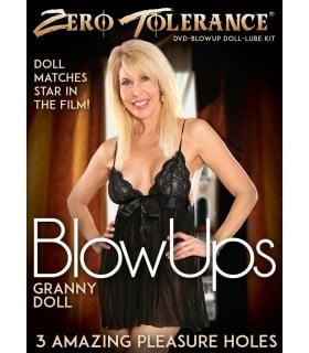 Лялька надувна, жінка, мілфа, з фільмом на DVD диску - No Taboo