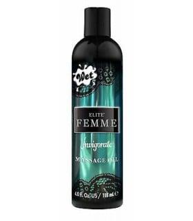 Массажное масло парфюмированное FLITE FEMME Wet INVIGORATE, 120 мл - No Taboo