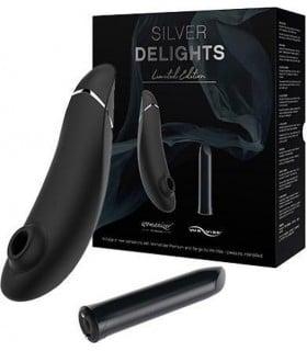 Набор секс игрушек Silver Delights Collection, чёрный - No Taboo
