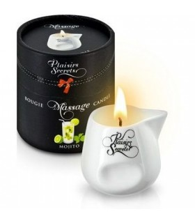 Массажная свеча с ароматом Мохито 80 мл - No Taboo