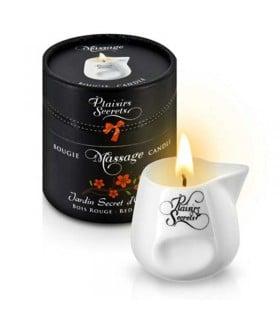 Массажная свеча с ароматом Красного дерева 80 мл - No Taboo