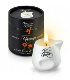 Массажная свеча с ароматом Мака 80 мл - No Taboo
