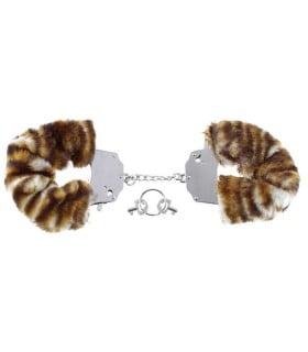 Наручники с тигровым мехом