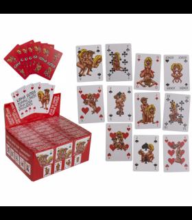 Карти Kamasutra Comic для гри в сексуальний покер, 54 карти - No Taboo