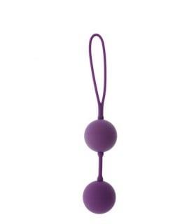 Шарики вагинальные фиолетовые со смещенным центром тяжести GOOD VIBES - No Taboo