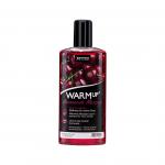 Массажное масло c разогревом съедобное WARMup Cherry, 150 ml