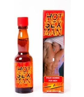 Капли для возбуждения мужские - Hot Sex Man - No Taboo