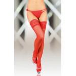 Сексуальные красные чулки с кружевом 4(XL)