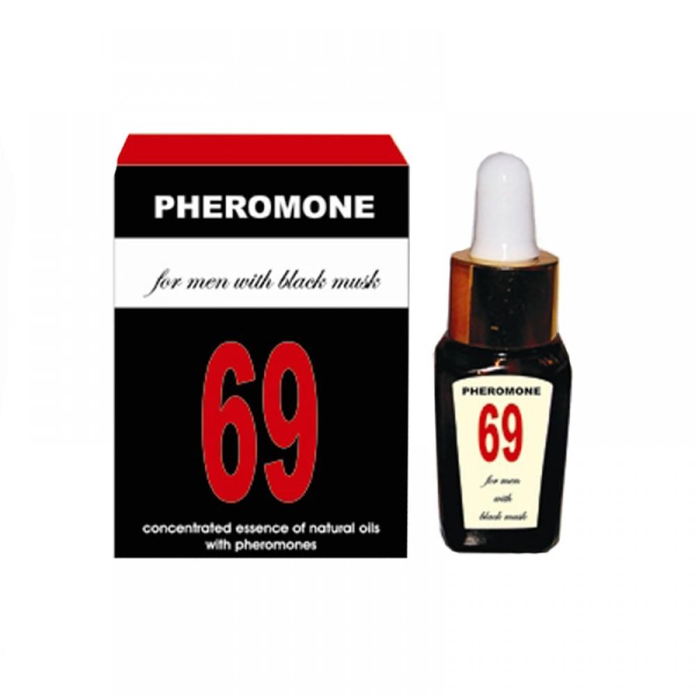 Пробник Феромоны 69 для мужчин 1,5 мл (5884), фото 1 — секс шоп Украина, NO TABOO