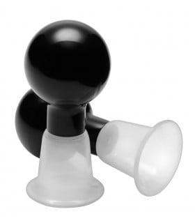 Вакуумные помпы для сосков, пластик, 5 х 2.5 см - No Taboo