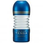 Мастурбатор хай-тек з гнучким корпусом Tenga, синій, 15 х 6 см