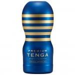 Мастурбатор хай-тек з унікальним рельєфом Tenga синій, 15 х 6 см