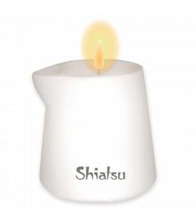 Массажная свеча SHIATSU Малина и Ванильный Крем, 130 г - No Taboo