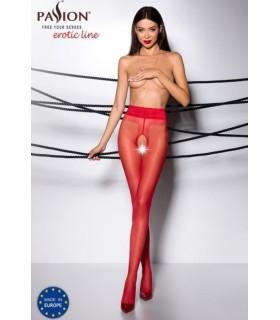 Колготки красные Tiopen 001 20 den Passion - 3/4