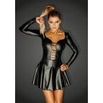 Мини-платье Noir Handmade с заклепками размер M, черное