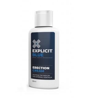 Стимулирующий эрекционный крем, Explicit Blue, 85 мл - No Taboo