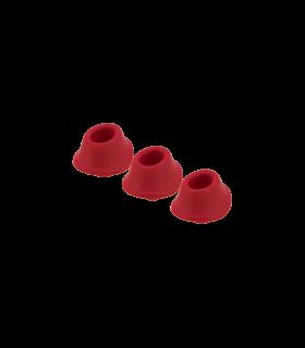 Набор насадок на Womanizer Premium и Classic красные, размер М - No Taboo