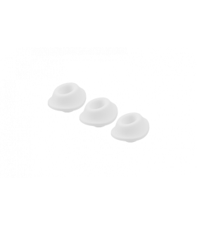 Набор насадок на Womanizer Premium и Classic белые, размер S - No Taboo