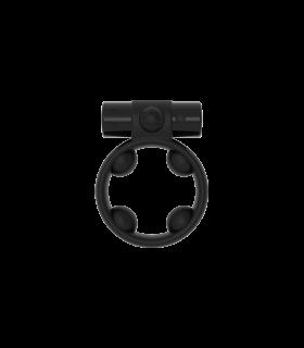 Эрекционное кольцо c вибропулей Cool Boy ML Creation (My Love), черный - No Taboo