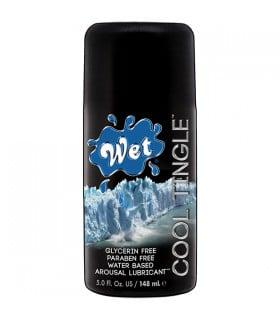 Лубрикант Wet Cool Tingle на водной основе, 148 мл - No Taboo