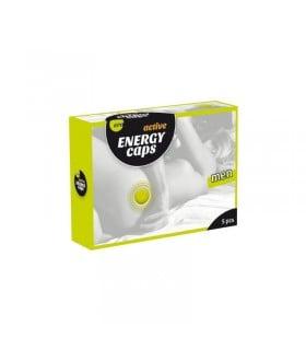 Возбуждающие капсулы для мужчин ERO Energy Caps, цена за 1 шт - No Taboo