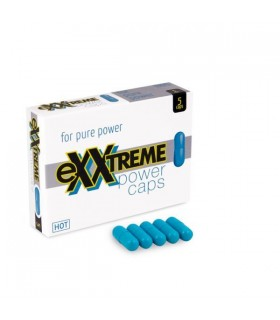 Капсулы для мужчин возбуждающие HOT eXXtreme, цена за 1шт - No Taboo