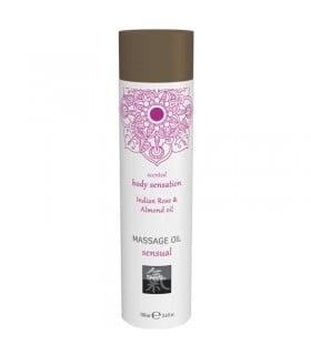 Массажное масло с индийской розой и маслом миндаля, 100 мл - No Taboo