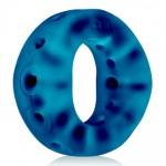 Эрекционное кольцо на член, силикон, синее