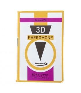 Духи с феромонами женские 3D Pheromone formula 25+, 1ml - No Taboo