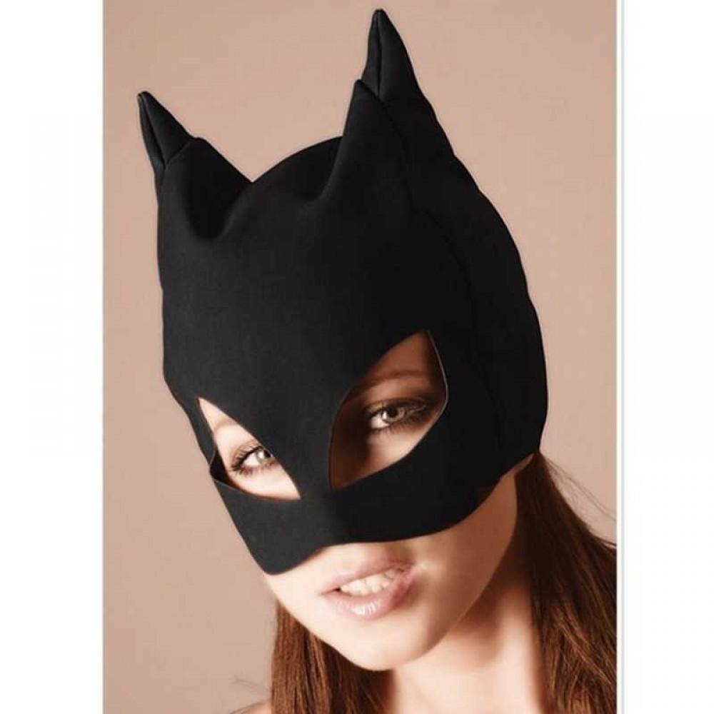 Маска бархатная Черная Кошка (3345)